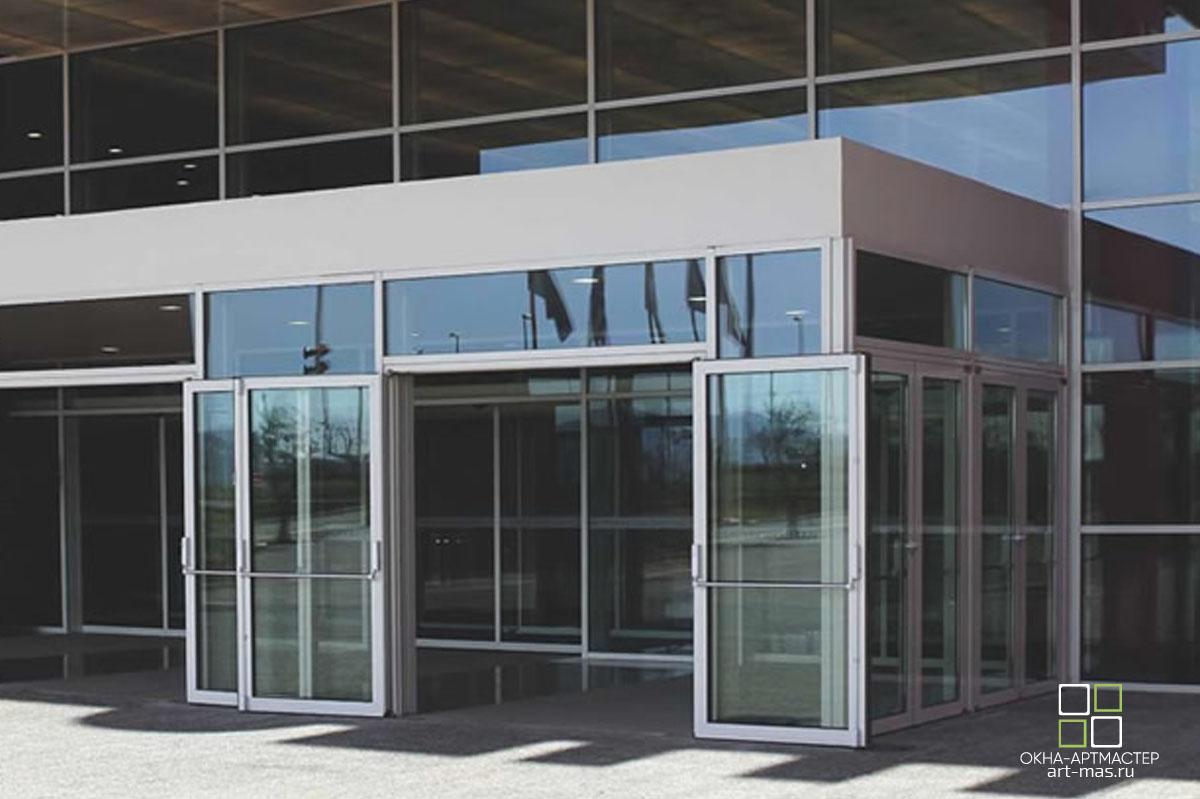 Реализованные проекты. Двери с антипаникой.