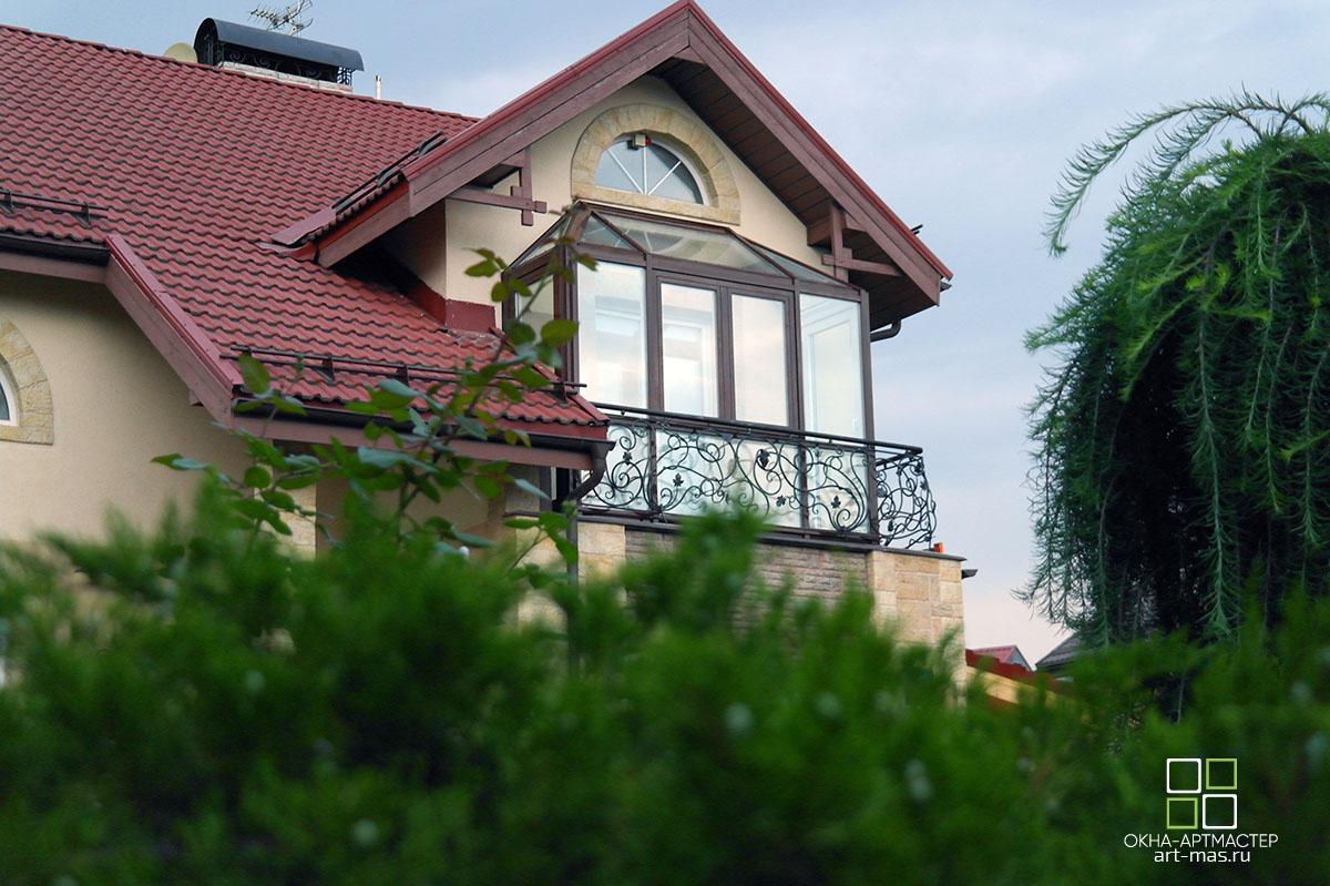 Реализованные проекты. Балкон зимний сад.