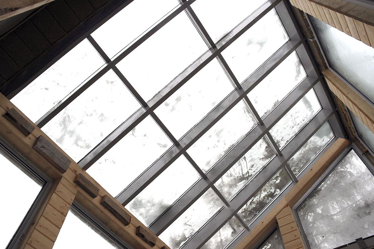 Реализованные проекты. Зимний сад. Крыша.