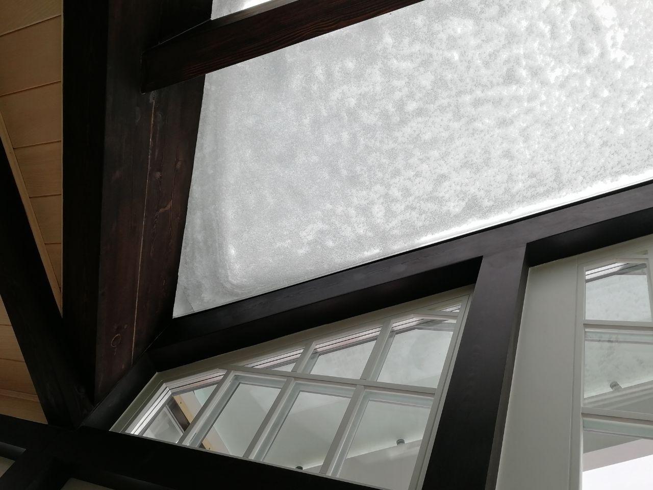 Зенитный фонарь. Крыша Гринфилд